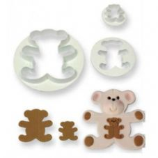3 Teddy Bear Cutters